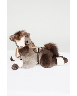 Лошадка из натурального меха
