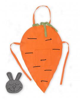 Фартук морковь