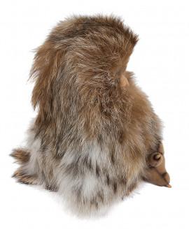 Птенец совы из натурального меха лисы