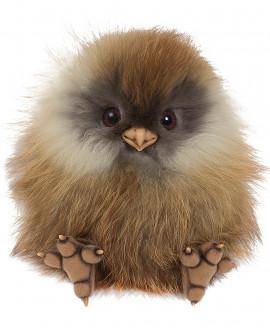 Птенец совы из натурального меха рыси