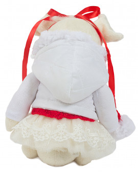 Символ года - Текстильная свинка Снегурочка