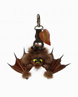 Меховой брелок Летучая Мышь