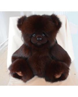 Большой Медведь из натурального меха