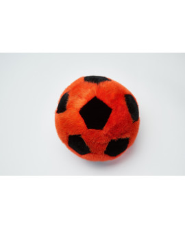 Сувенир мяч из натурального меха
